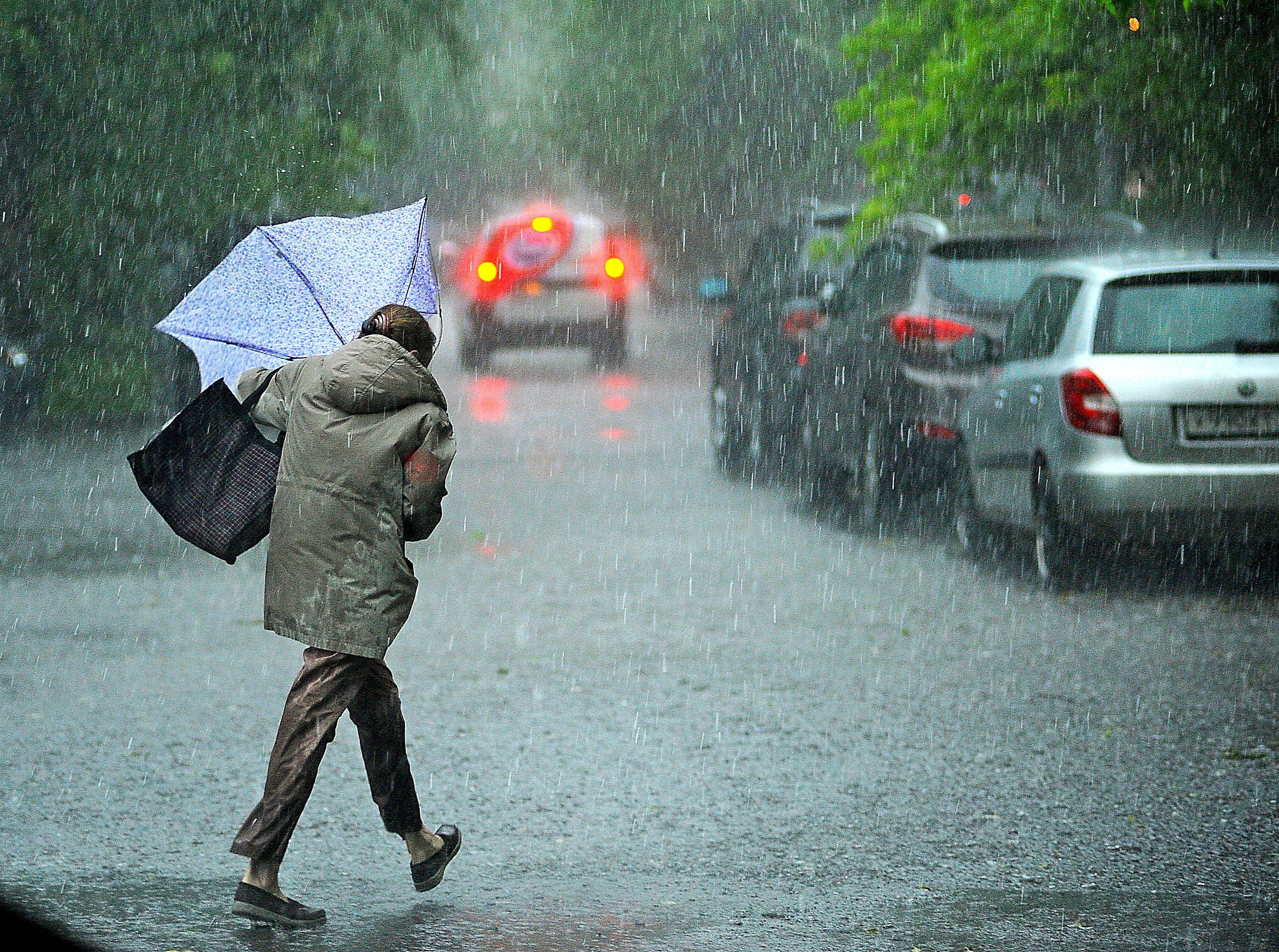 Москвичей предупредили о сильных дождях