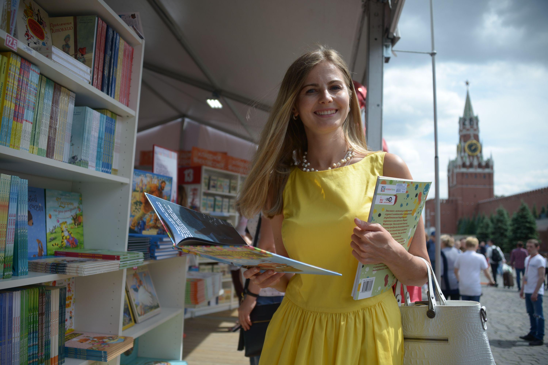 Книжный фестиваль на Красной площади смогут посетить не более 18 тысяч человек
