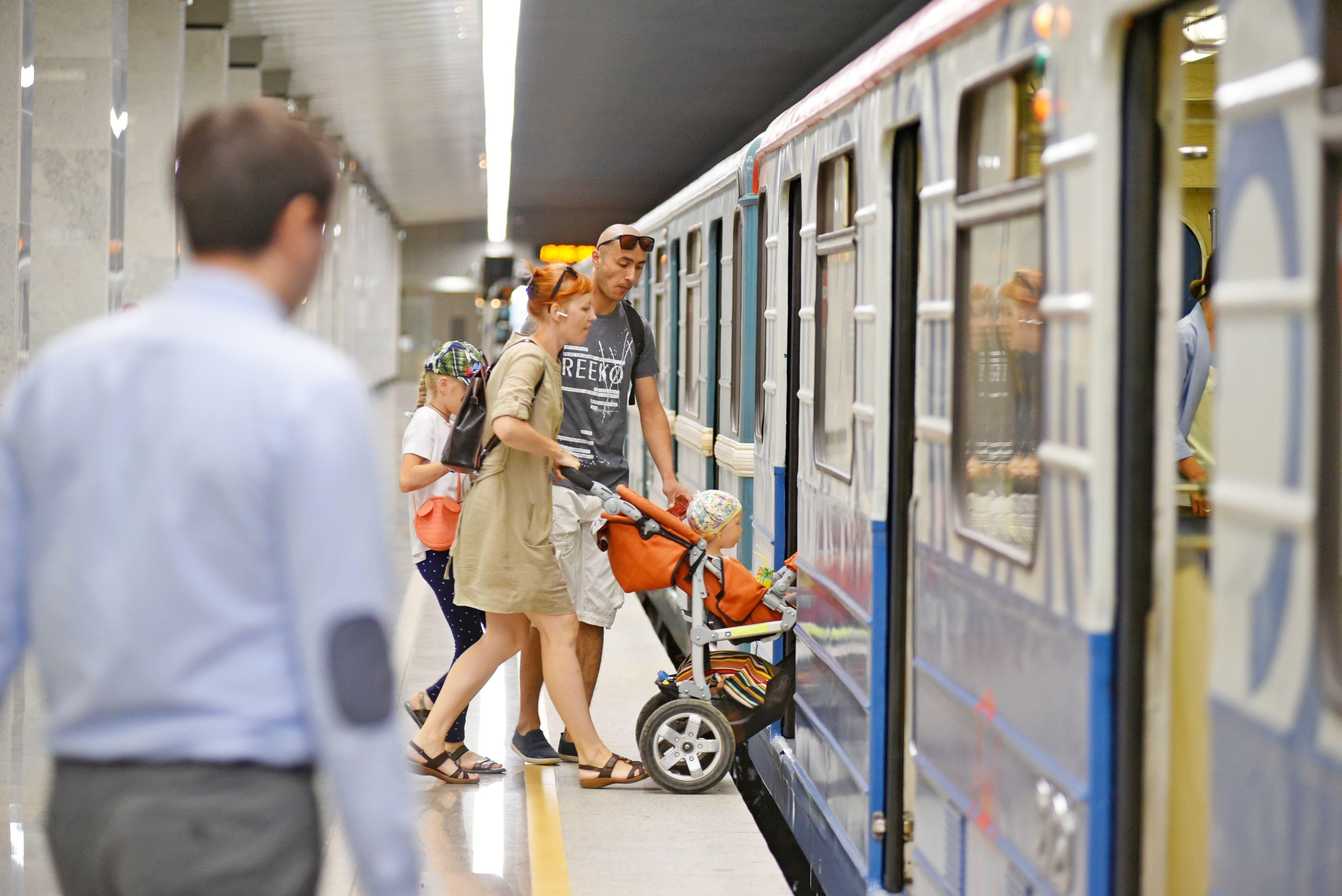 Новому участку Сокольнической линии метро исполнился год