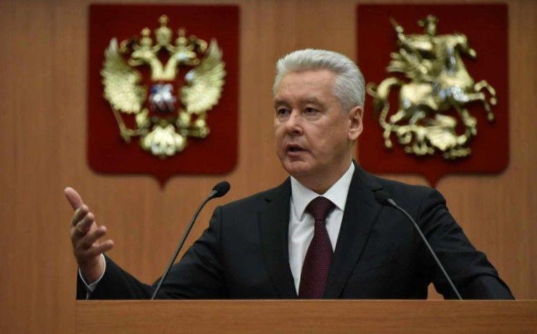 Мэр Москвы принял участие в электронном голосовании по Конституции