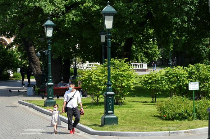 Солнечная и теплая погода ожидается в столице. Фото: Анна Быкова