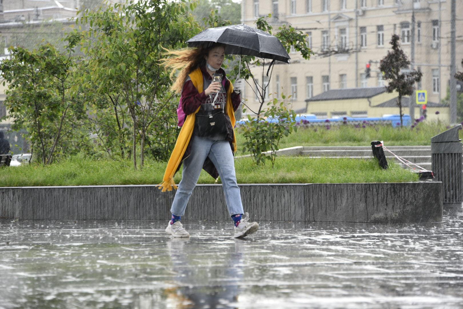 Резкое похолодание нагрянет в Москву на неделе