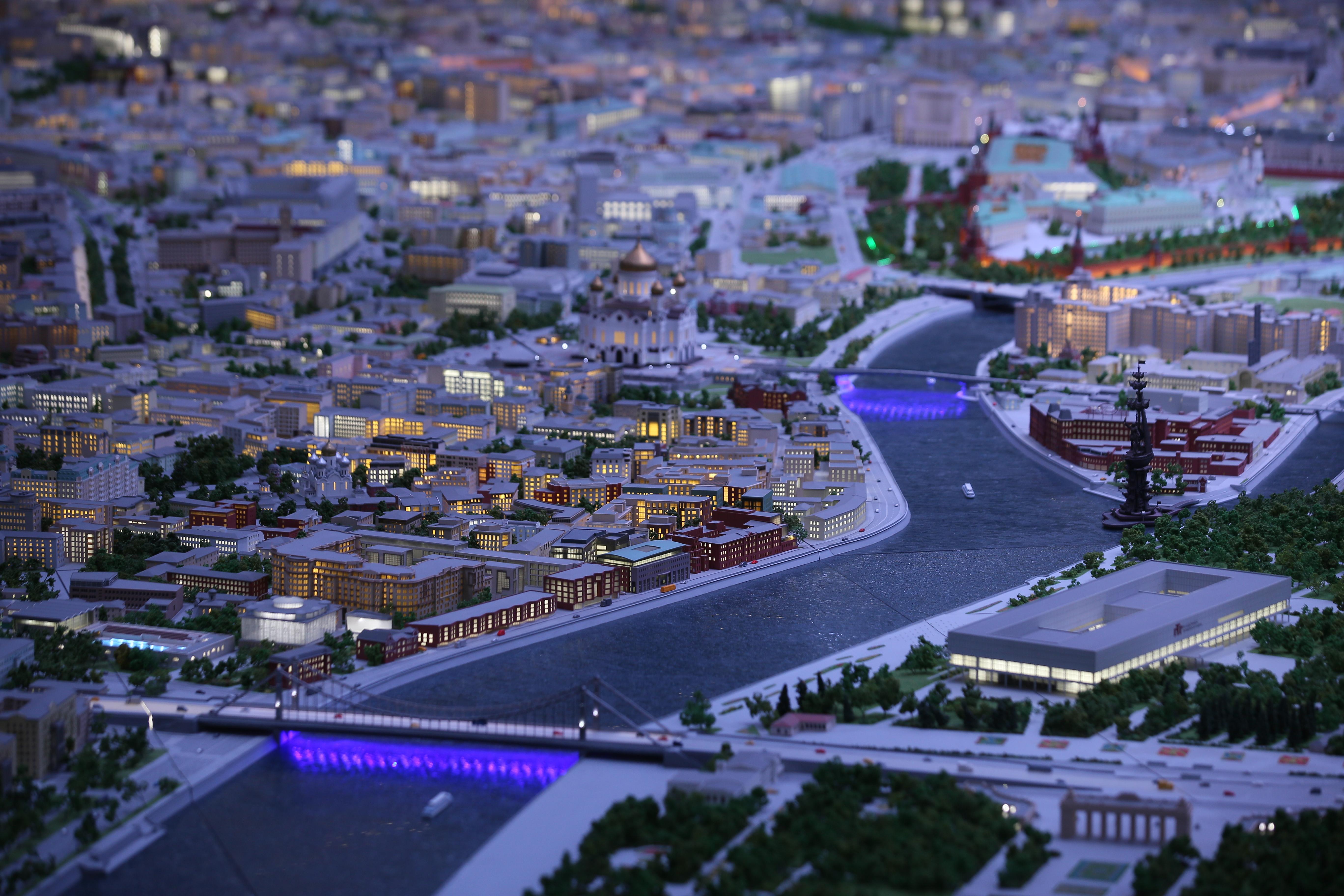 Свыше 8,5 тысячи человек посетили павильон «Макет Москвы» с середины июня