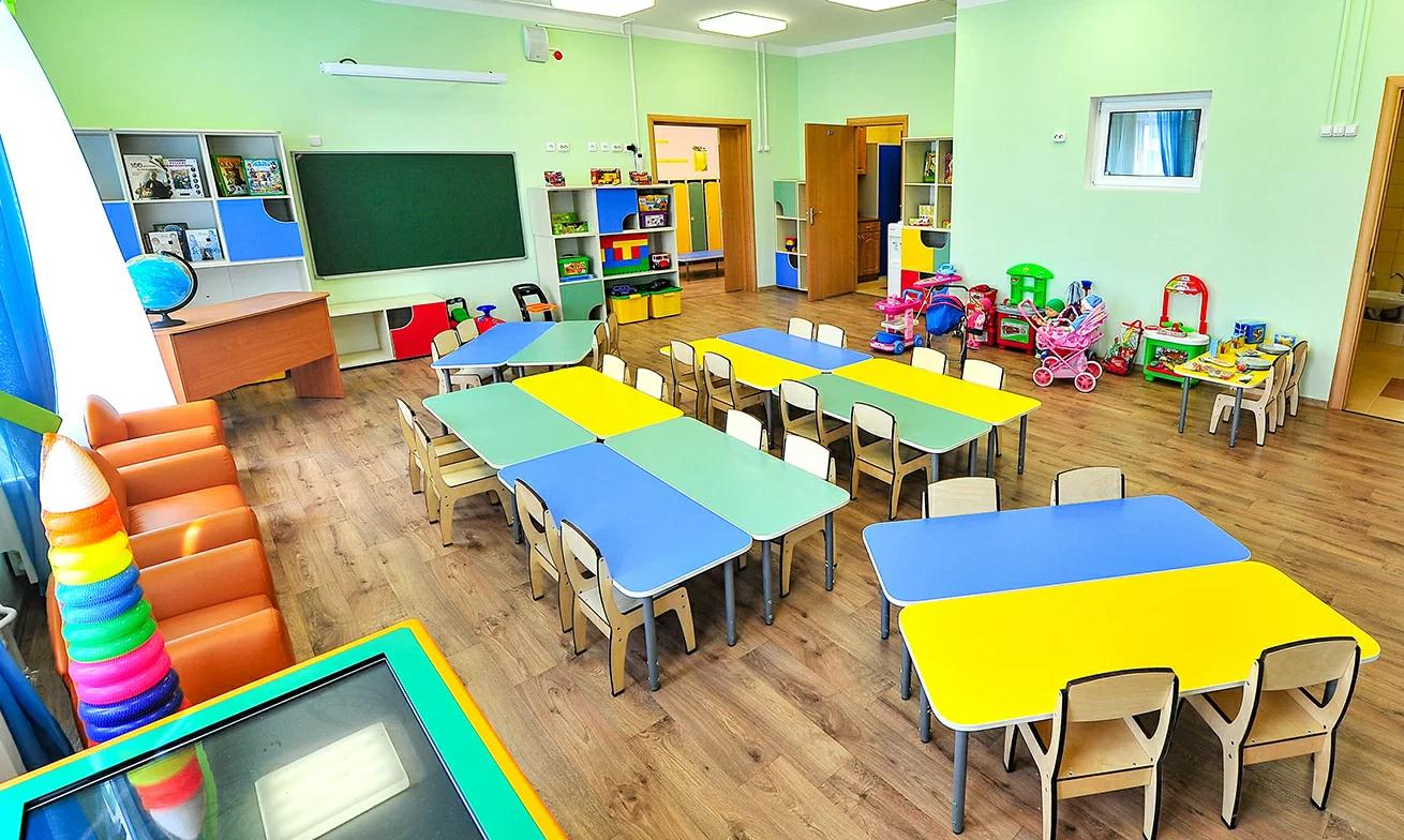 Детский сад с фасадом в виде домиков построят во Внуковском