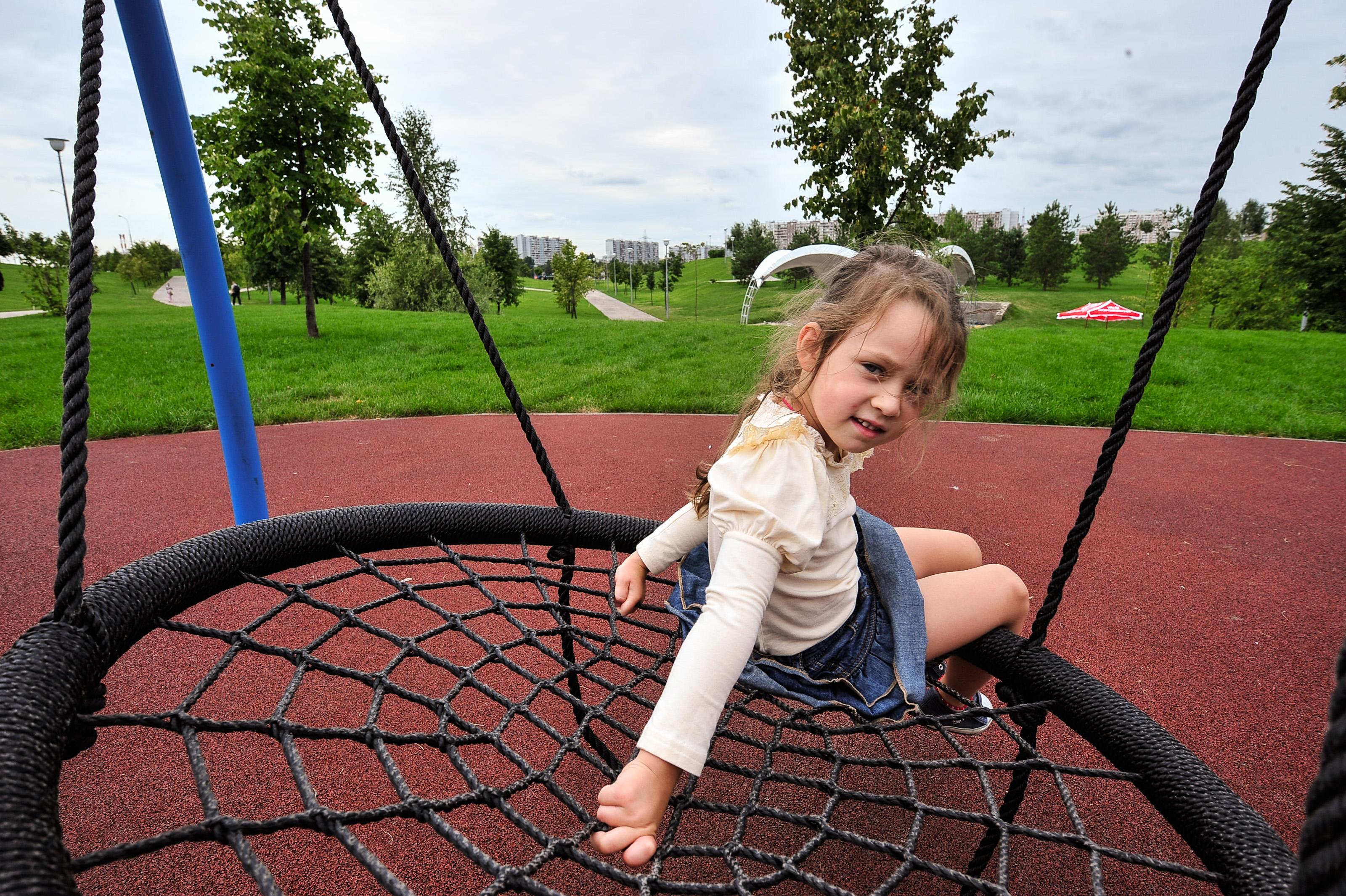 Площадка для активных детей: дворовую территорию благоустроили вблизи СНТ «Ракитки»