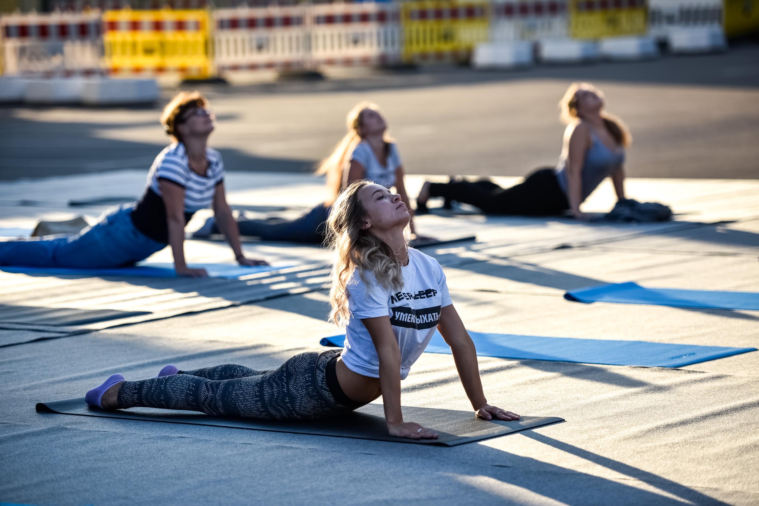 Москвичи займутся аэробикой и гимнастикой в парках