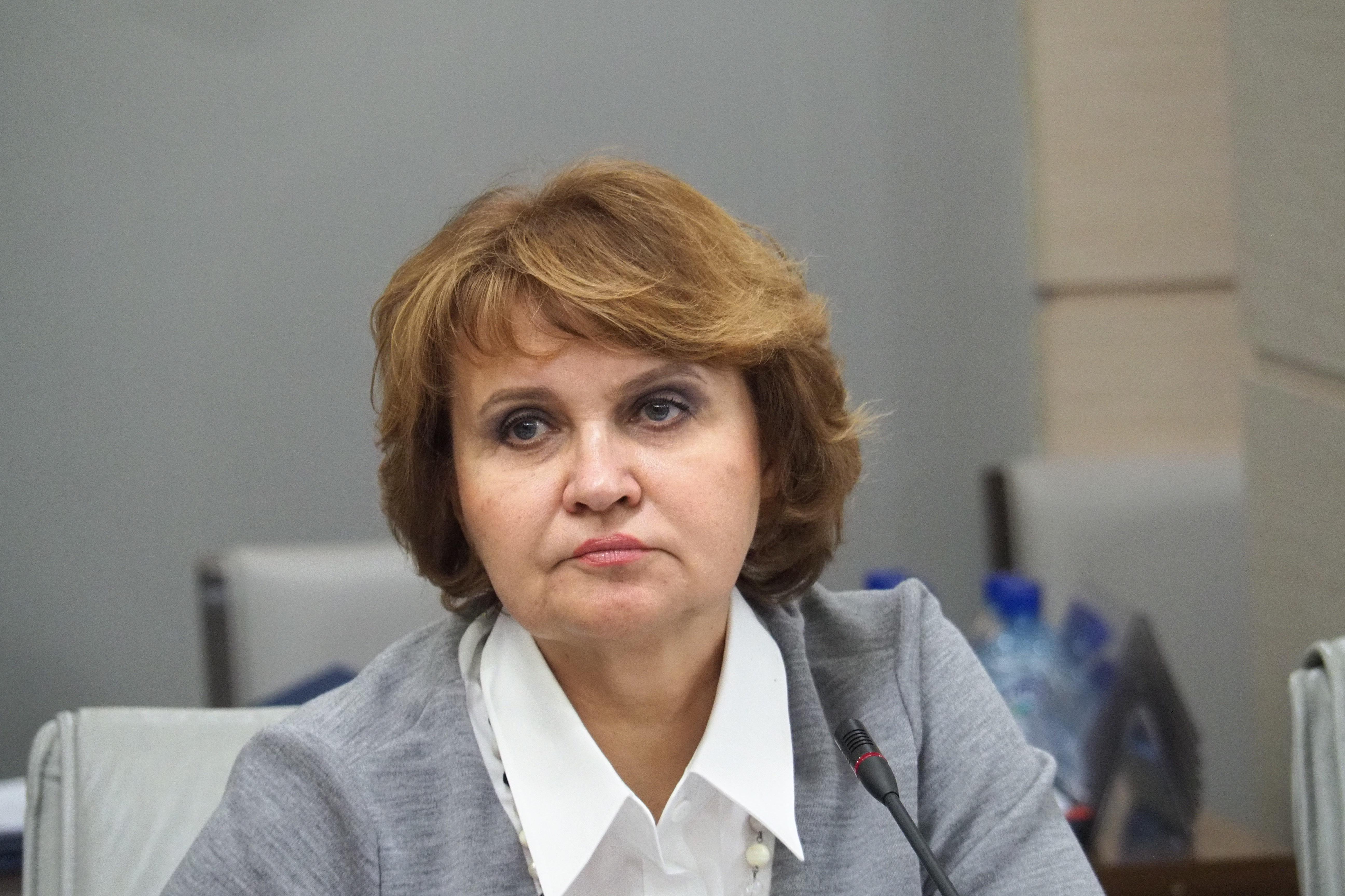 На фото депутат Московской городской Думы Людмила Гусева