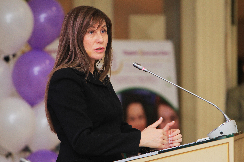 Депутат Мосгордумы Лариса Картавцева: Москвичи осознанно относятся к вакцинации от гриппа