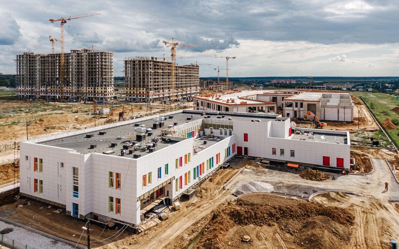 Последний этап строительства детского сада стартовал в Рязановском