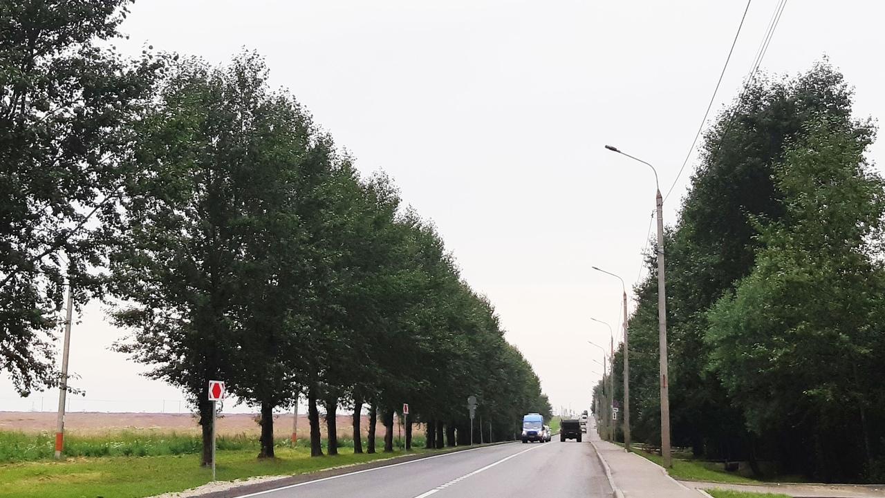 Вблизи деревни Мостовское установили новые уличные фонари