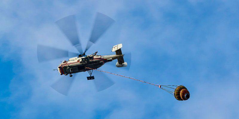 На пожары будут привлекать спасателей Московского авиацентра