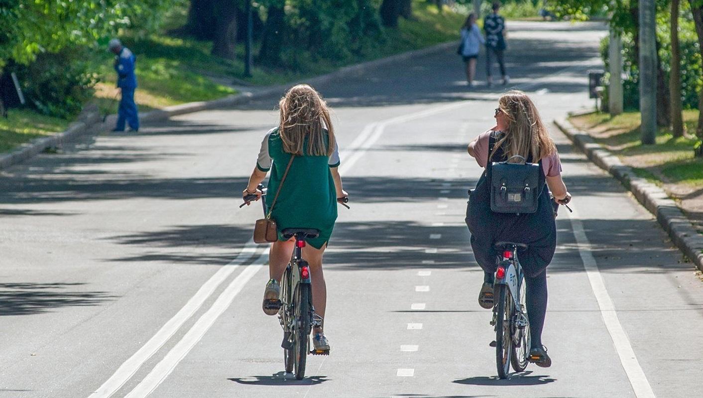 Сеть велодорожек появилась от станции метро «Филатов Луг» до Московского