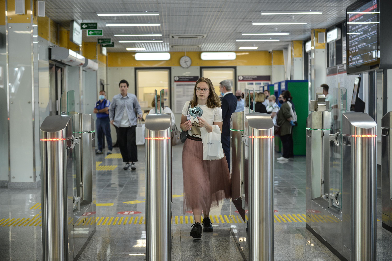 Бесплатная пересадка с МЦД на метро востребована у 75 процентов пассажиров с «Тройкой»