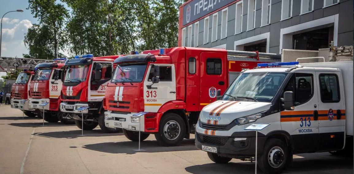 Новый пожарно-спасательный отряд заступил на дежурство в Московском