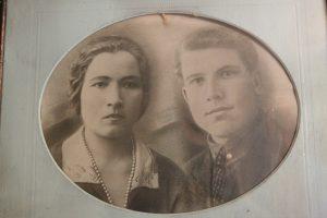 Иван Алексеевич с супругой Аграфеной. Фото: Владимир Смоляков