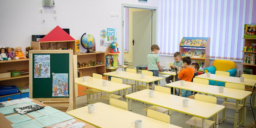 Детский сад с бассейном построили в Сосенском