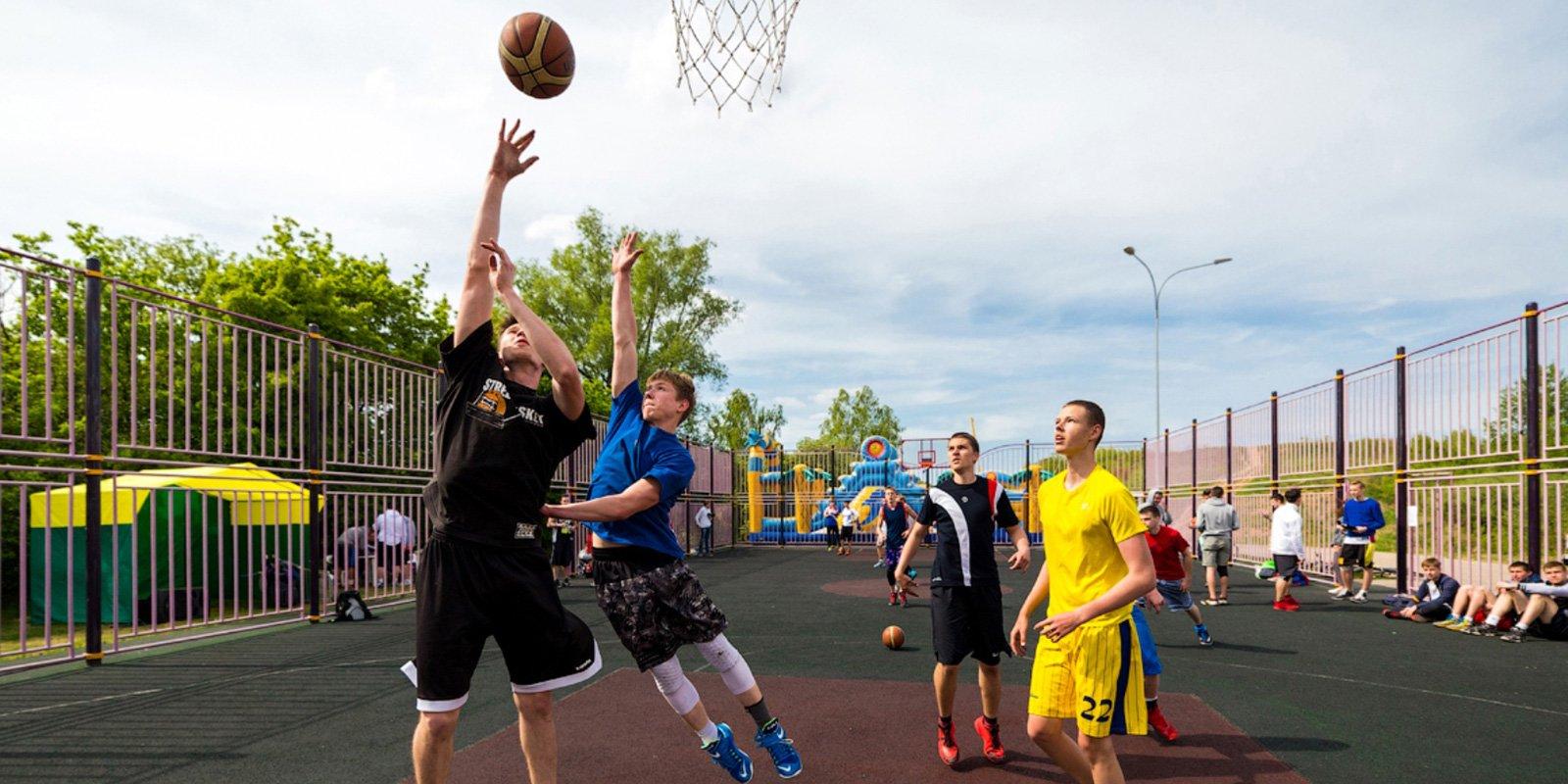 Отборочный этап по стритболу состоится в Сосенском