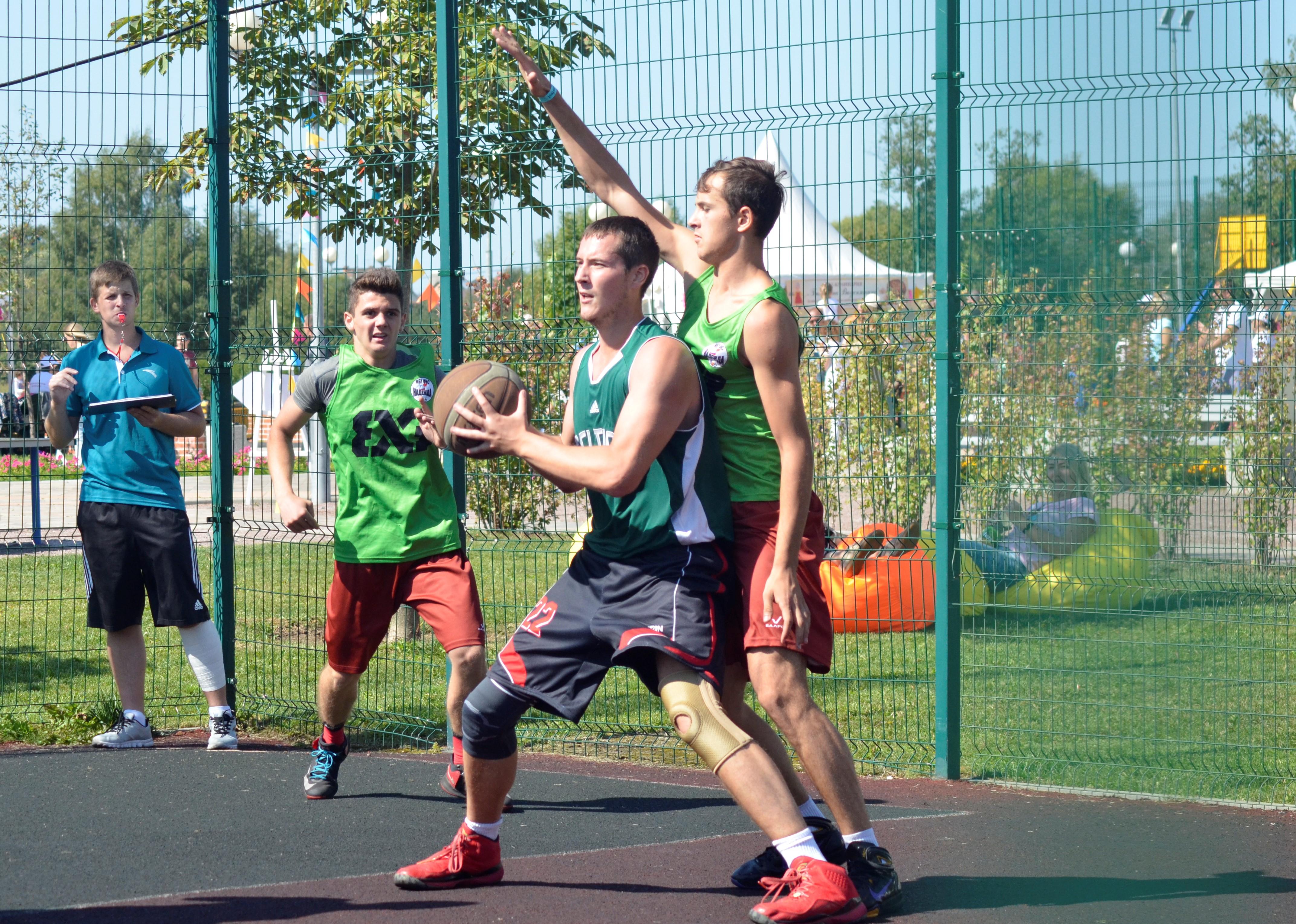 Турнир по стритболу организуют в Воскресенском