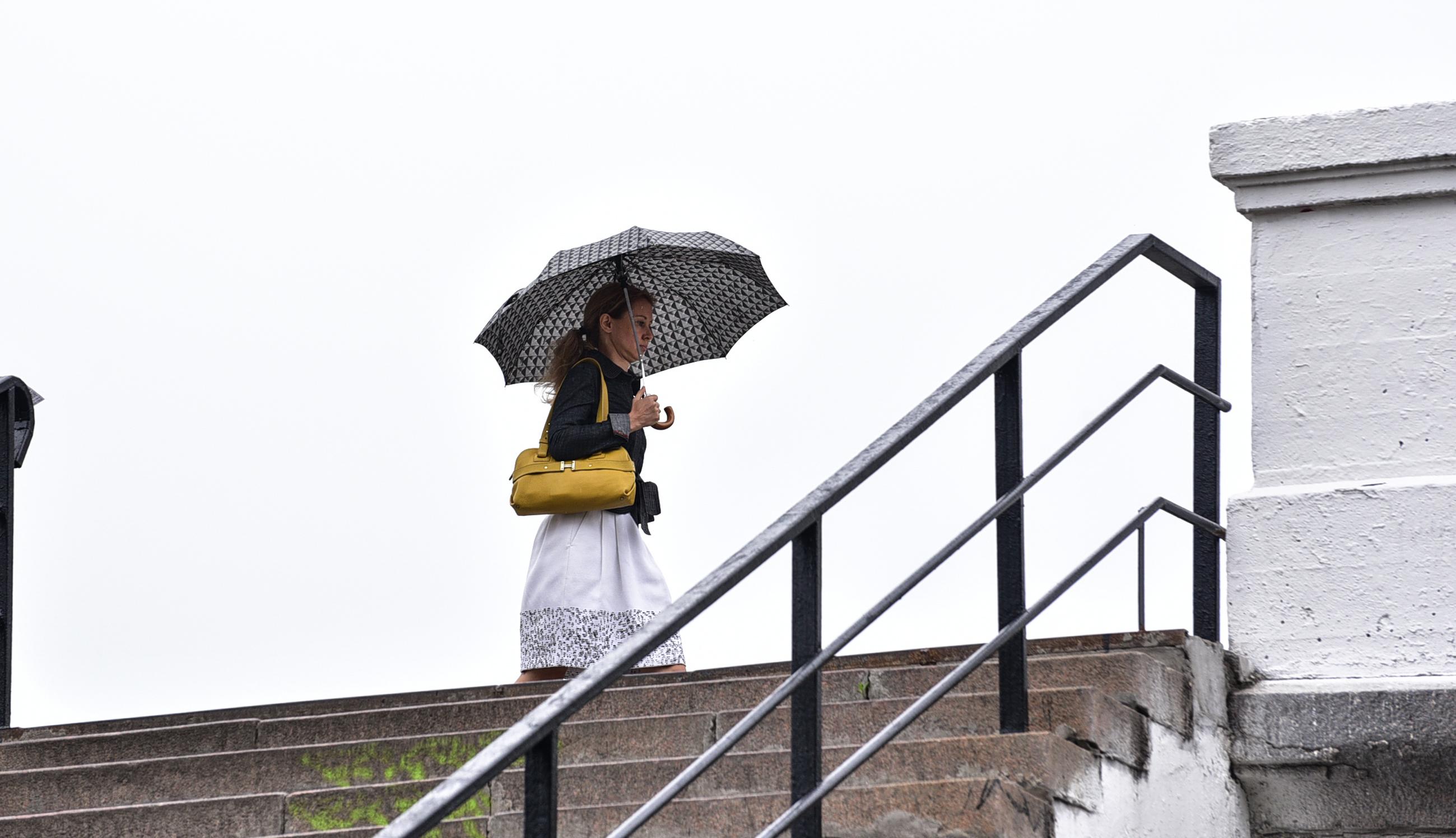 Москвичей ждет дождливая погода во вторник