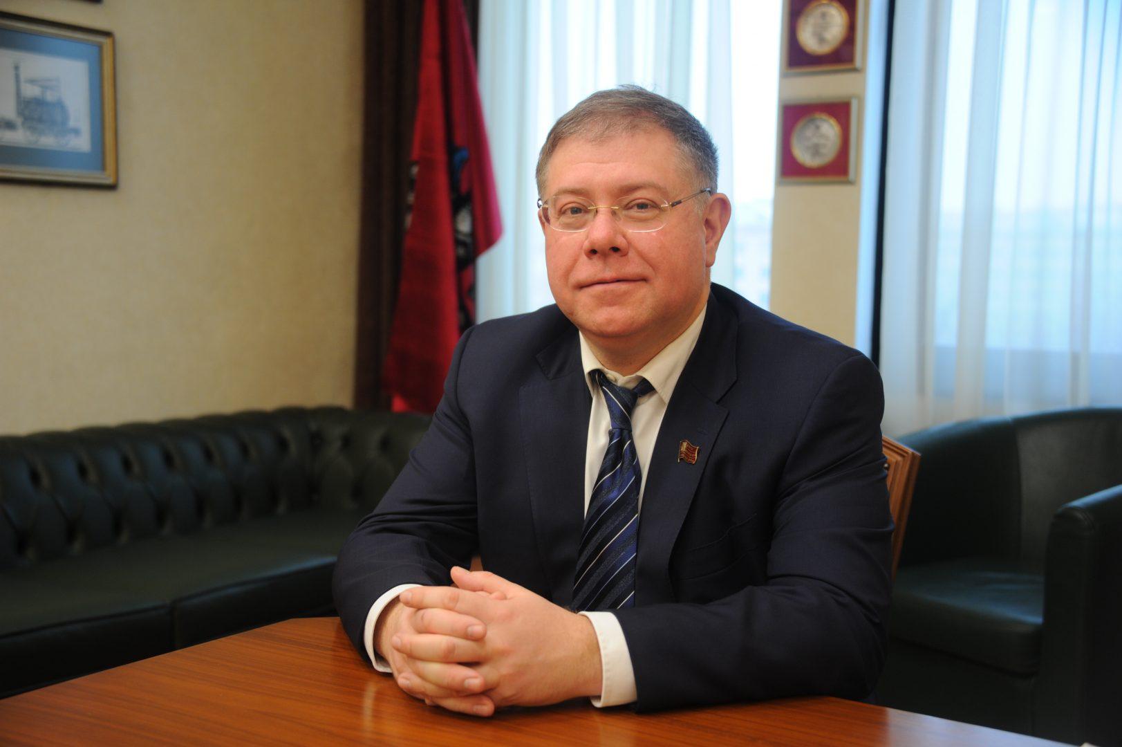 На фото: депутат Мосгордумы Степан Орлов