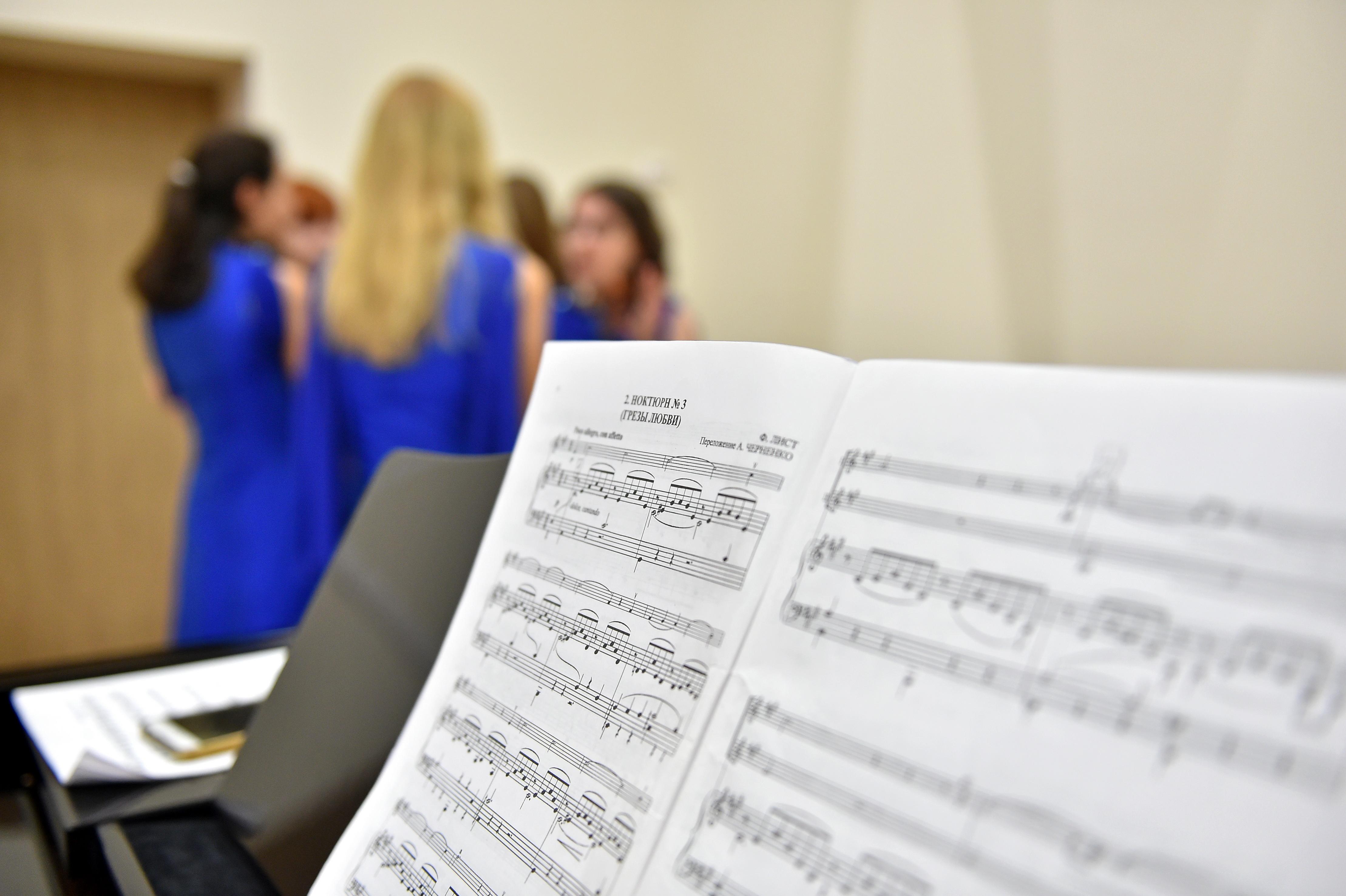 Вступительные испытания прошли в музыкальной школе Киевского