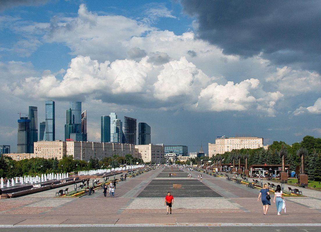 Дождь ожидается в столице в воскресенье