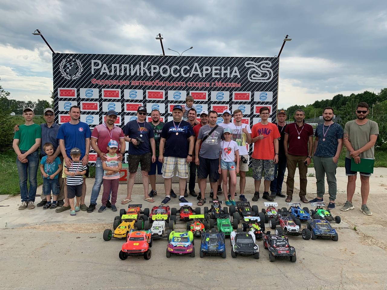 IV этап кубка по радиоуправляемым моделям «Московия» завершился в Щаповском