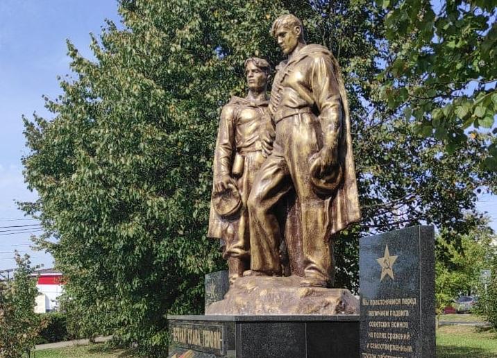Торжественное открытие памятника состоялось в Курилове