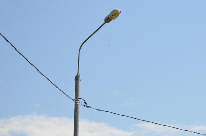 Современные фонари разместили в Кленовском