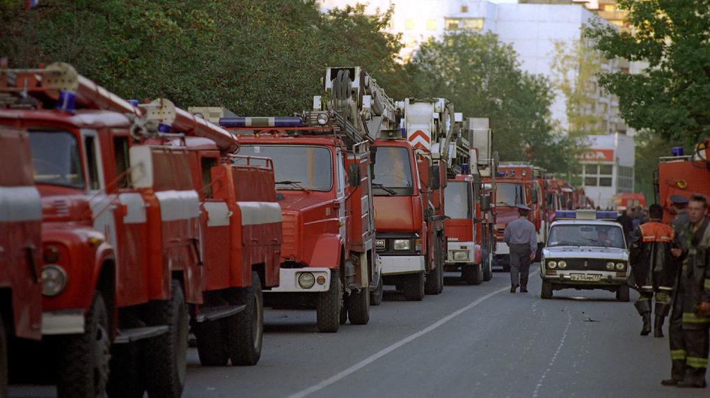 20 лет подвигу пожарных и спасателей Москвы в Останкино