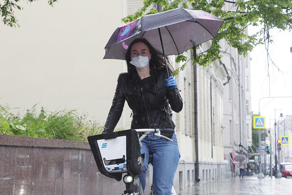 Пасмурная погода ожидается в Москве