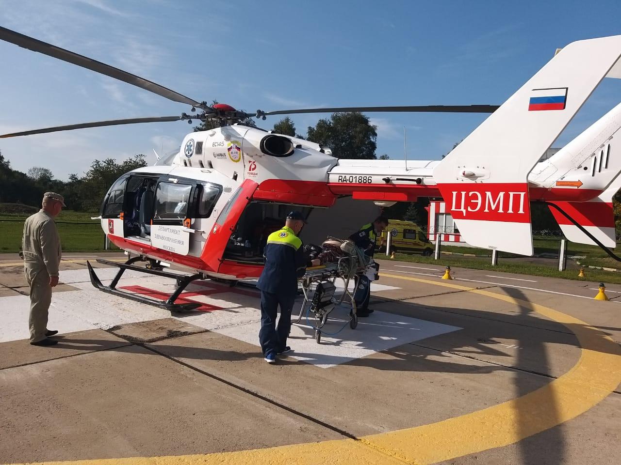 Спасатели оказали помощь мужчине с инфарктом