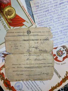 А свидетельство о браке молодым подписал Тыко Вылко, которого местные жители называли президентом Новой Земли. Фото: Виктор Хабаров