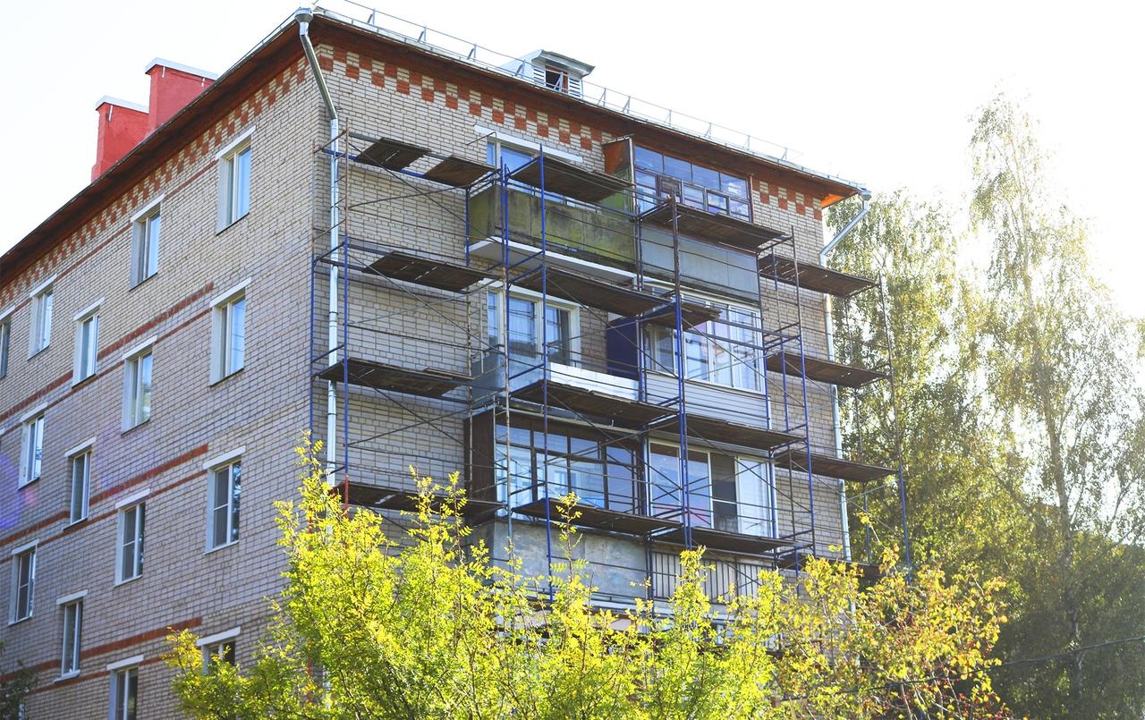 Новый этап капремонта многоквартирного дома стартовал в Рязановском
