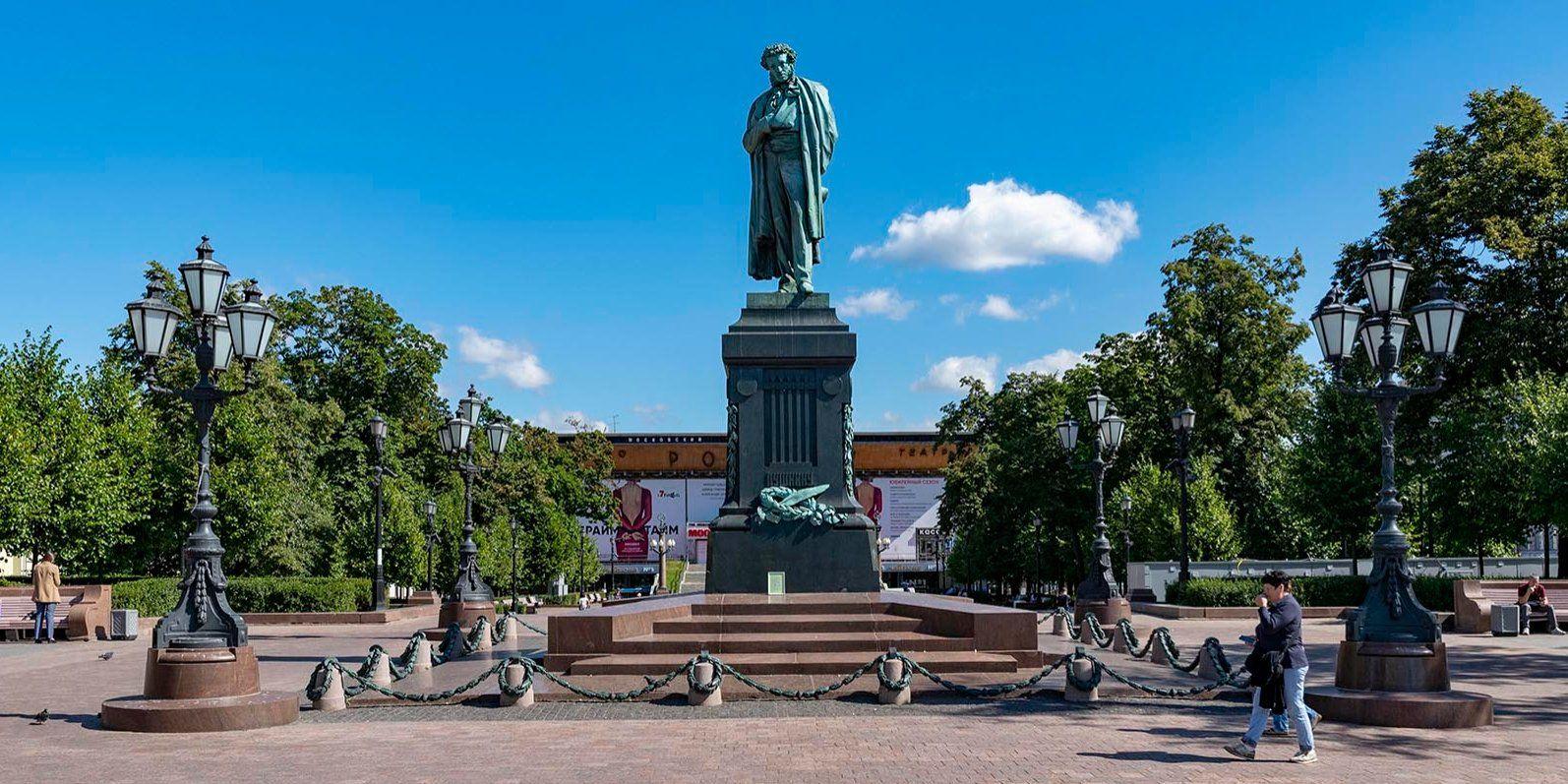 Жителям Москвы предложили проголосовать за любимые памятники