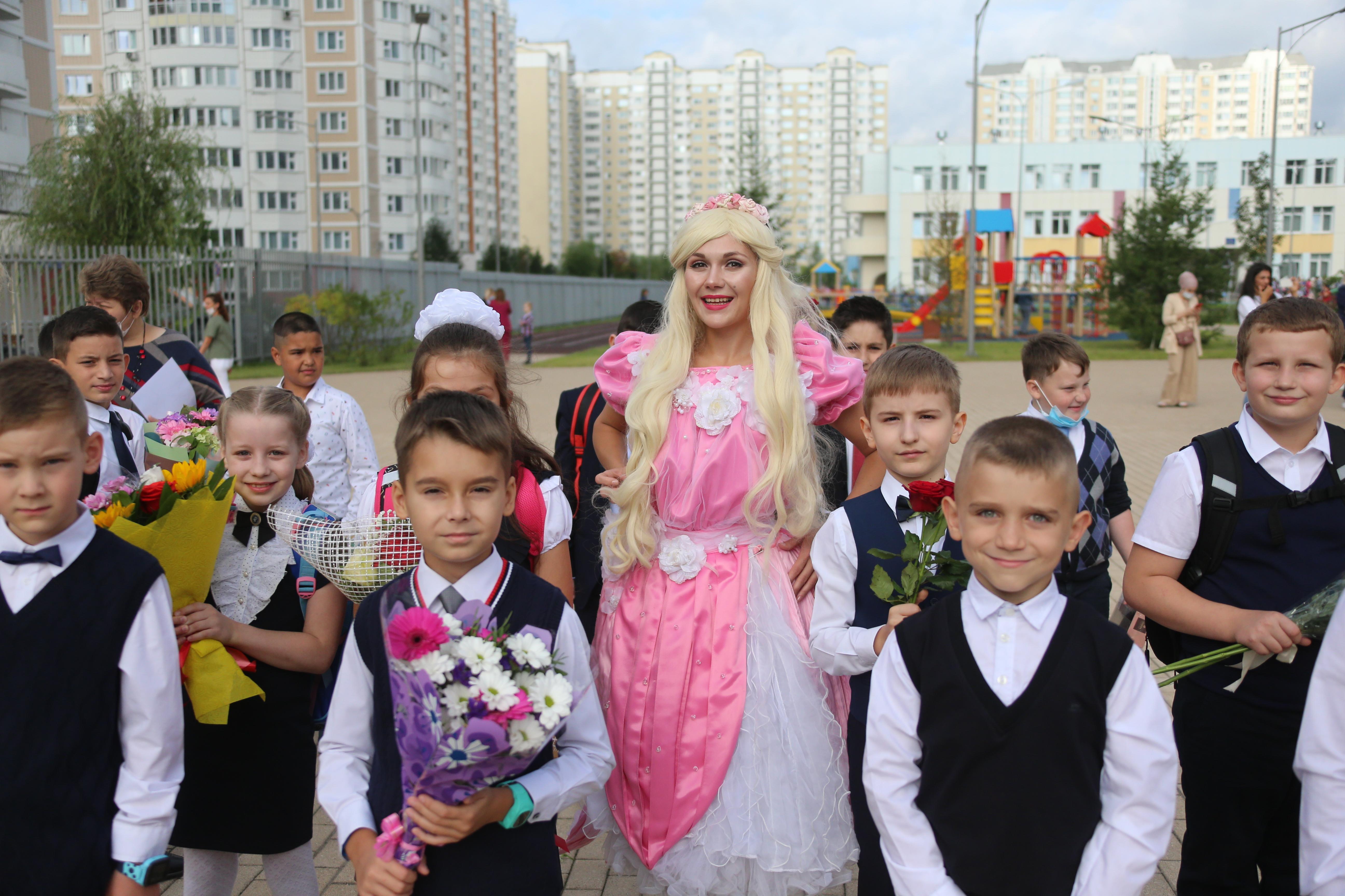 Открытие новой школы №2120 Московского состоялось в День знаний