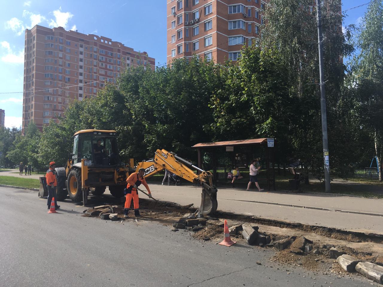 Реконструкцию дороги выполнят на Октябрьском проспекте в Троицке