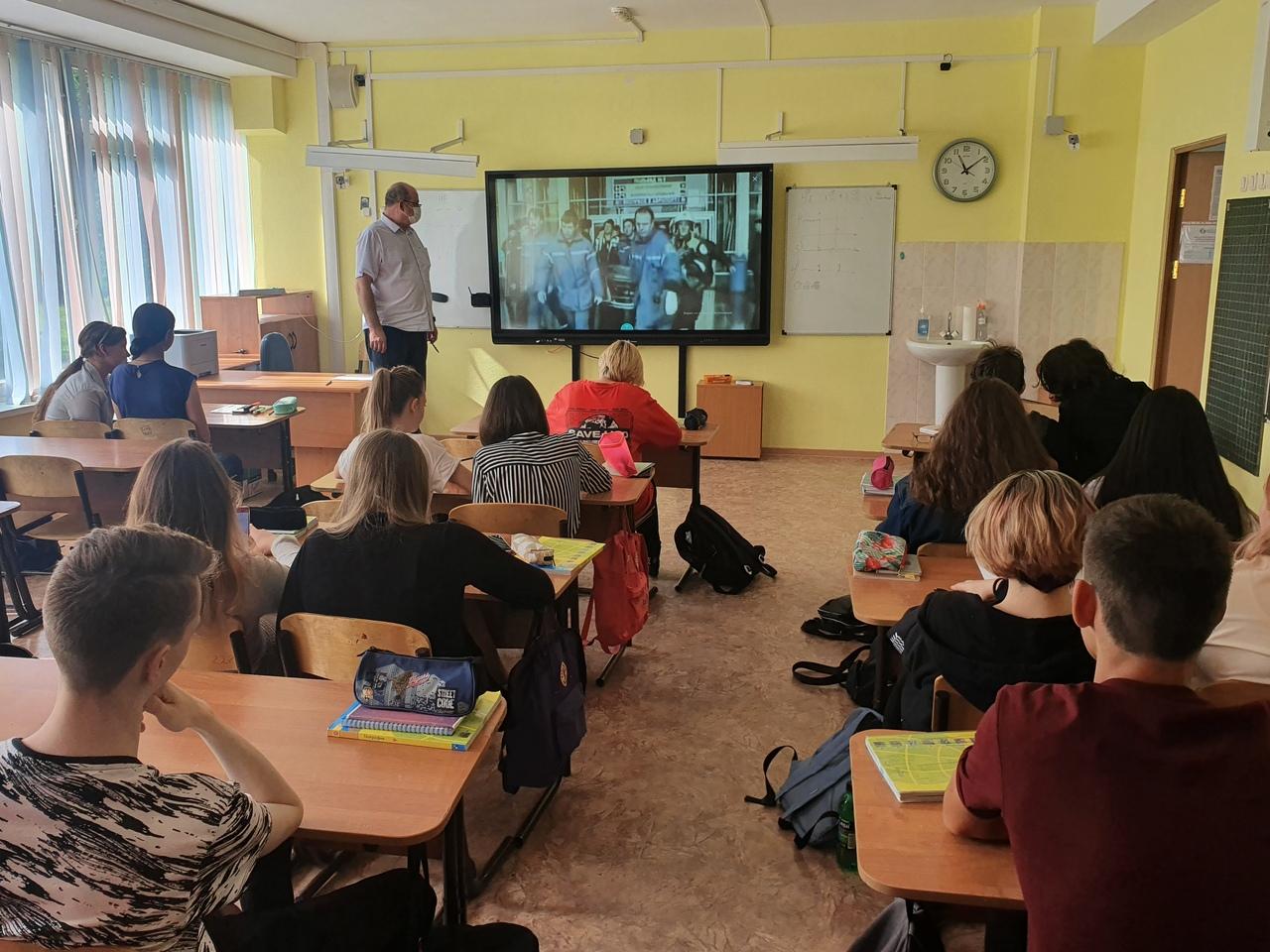 Московским школьникам в начале учебного года рассказали о правилах безопасности
