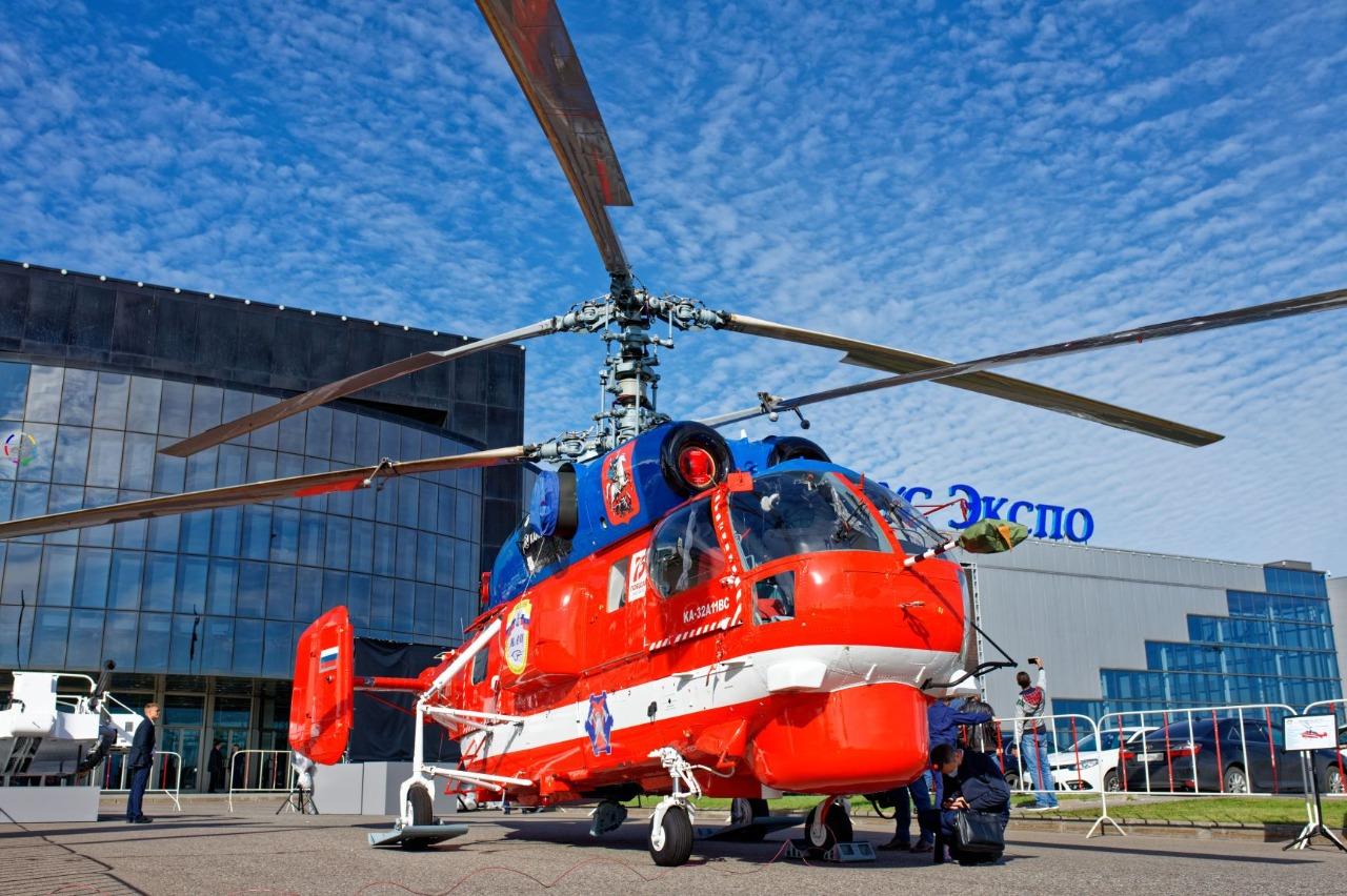 Московский авиационный центр принял участие в Международной вертолетной выставке