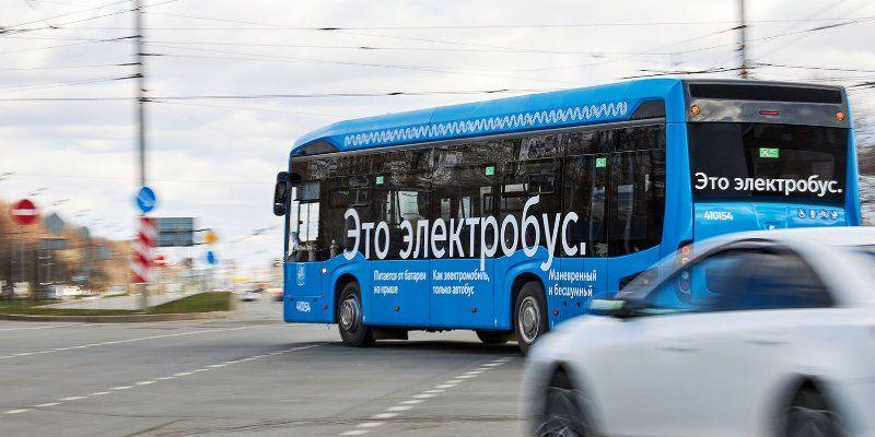 Автобусный парк для хранения электробусов появится в Краснопахорском