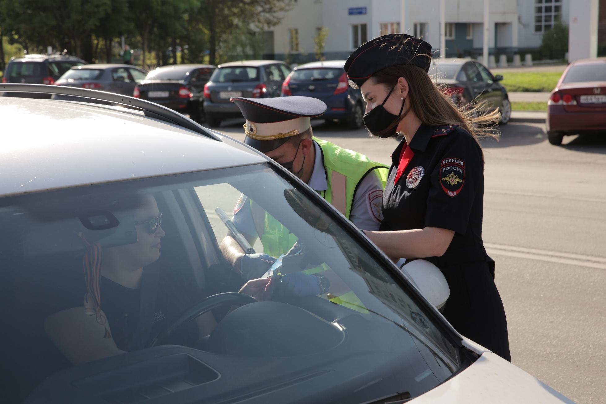 Инспекторы дорожно-патрульной службы провели рейд «Внимание, дети!»