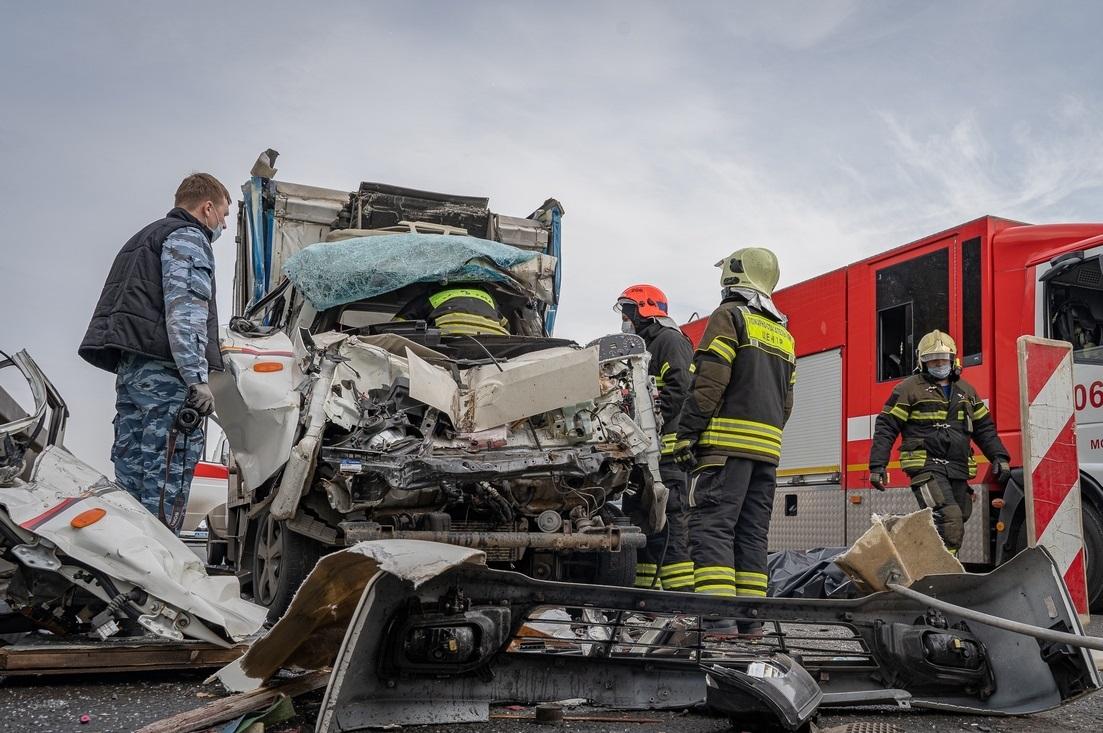 Спасатели Московского авиационного центра оказали помощь женщине в поселение Рязановское