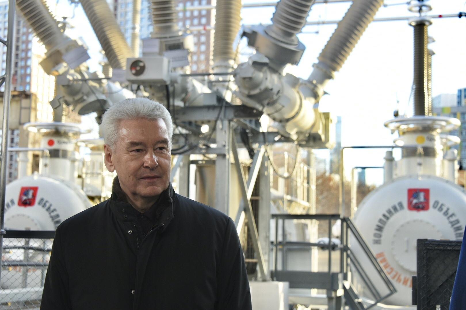 Собянин открыл испытательный комплекс электрооборудования