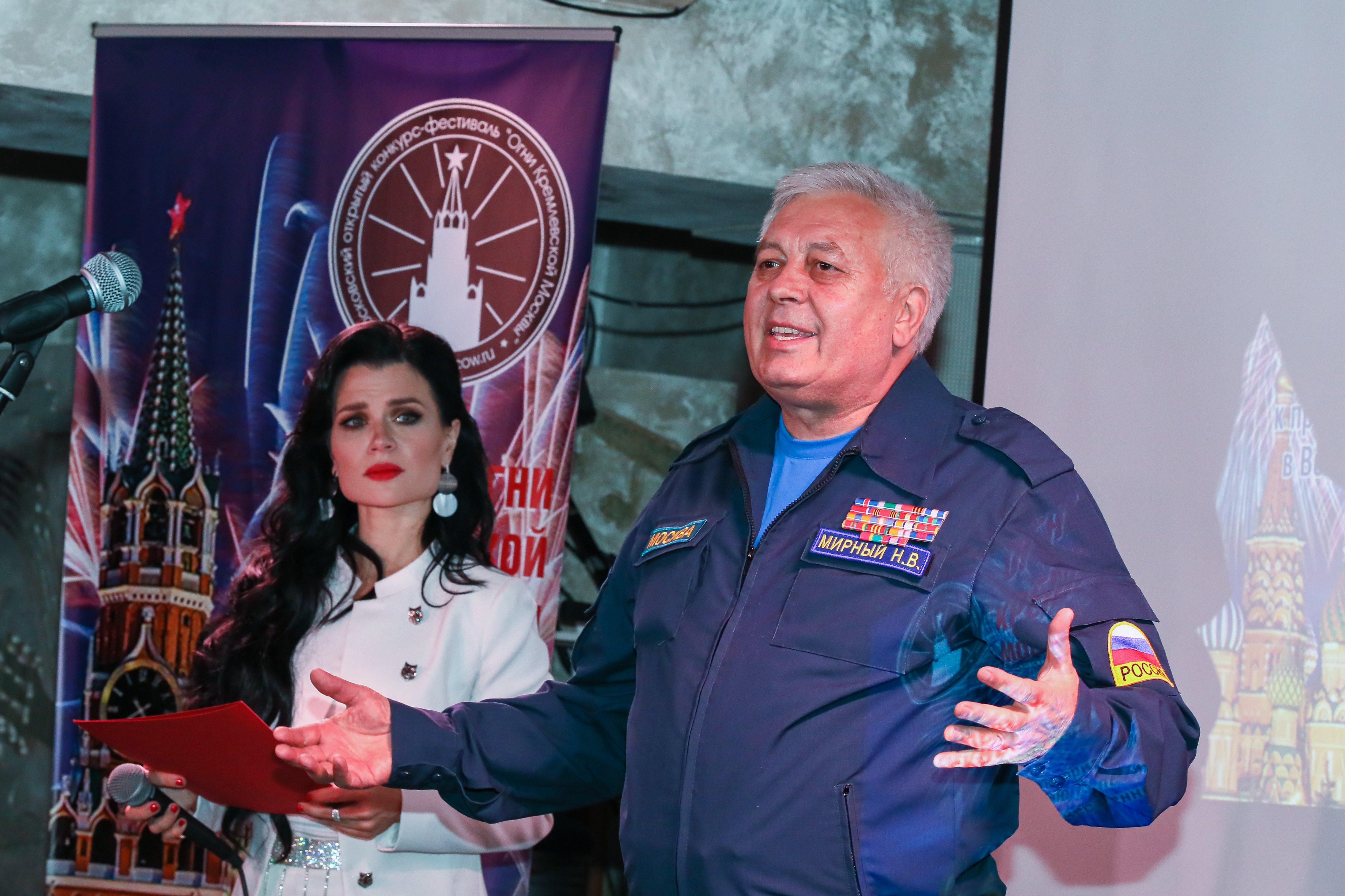 Специалисты Департамента ГОЧСиПБ стали участниками конкурса «Огни Кремлевской Москвы»