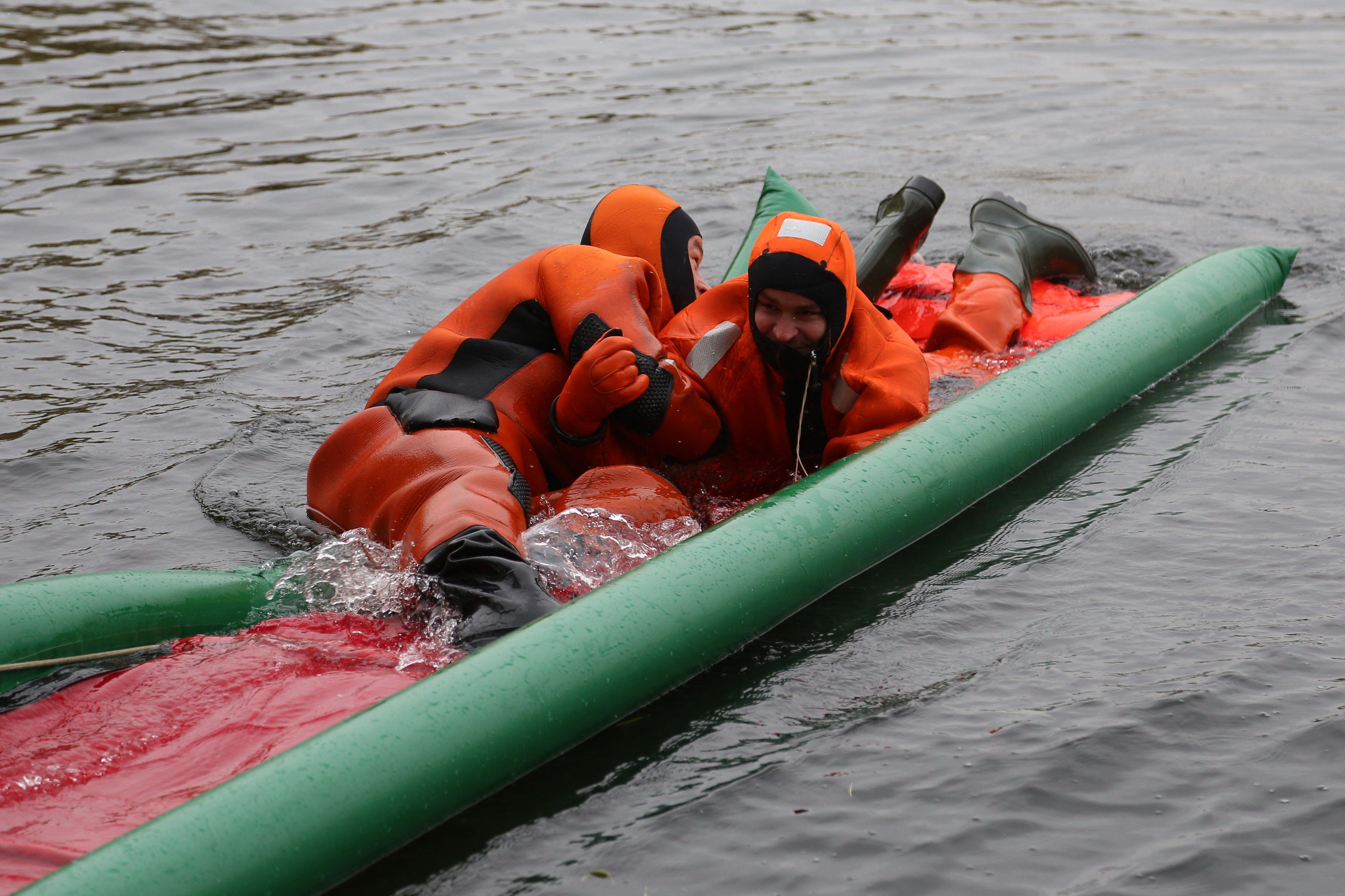 Водные спасатели города Москвы готовятся к зимнему периоду
