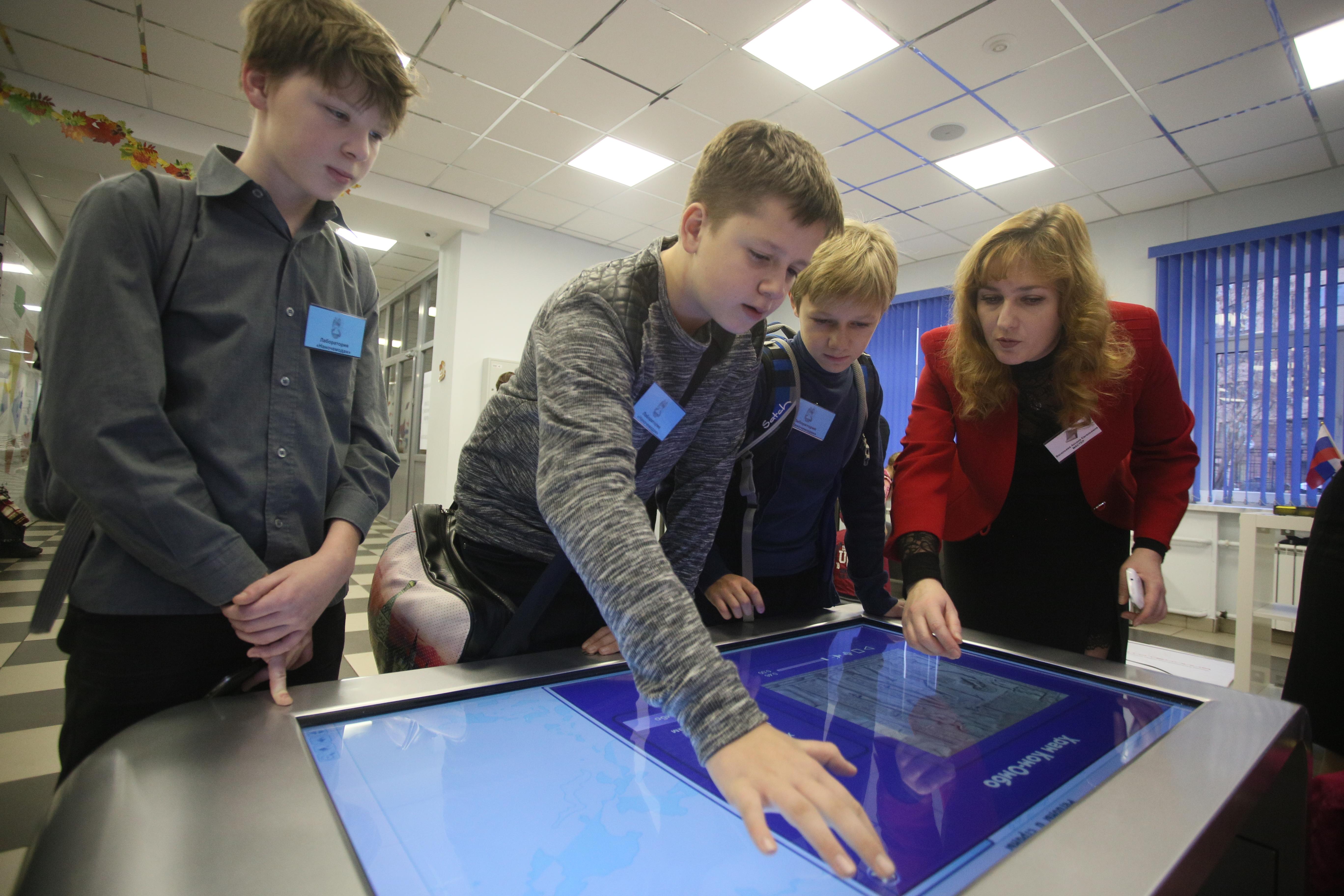 Учителя в Москве 21 октября провели почти 150 тысяч уроков в МЭШ