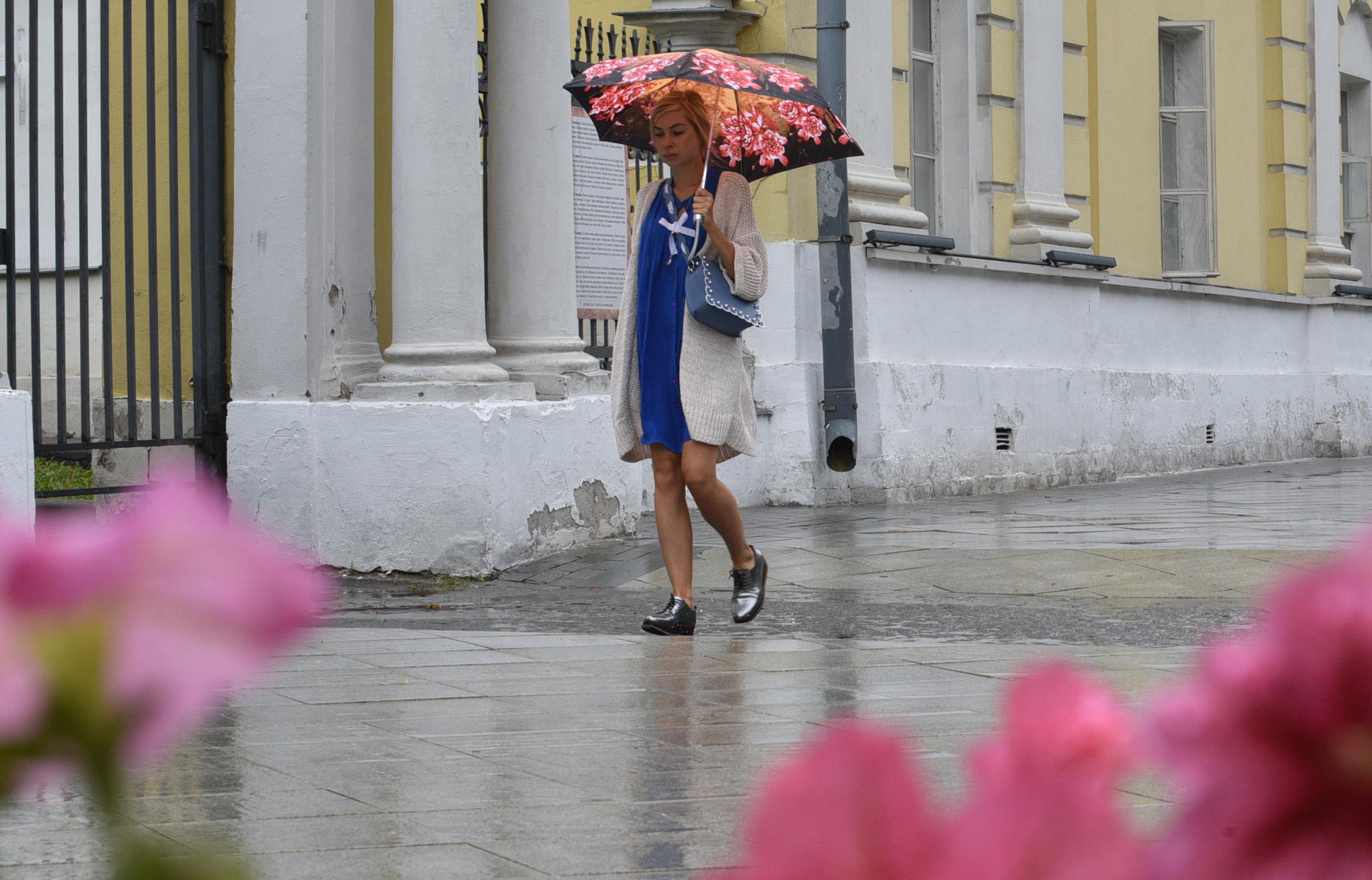 Жителей Москвы предупредили о дождях