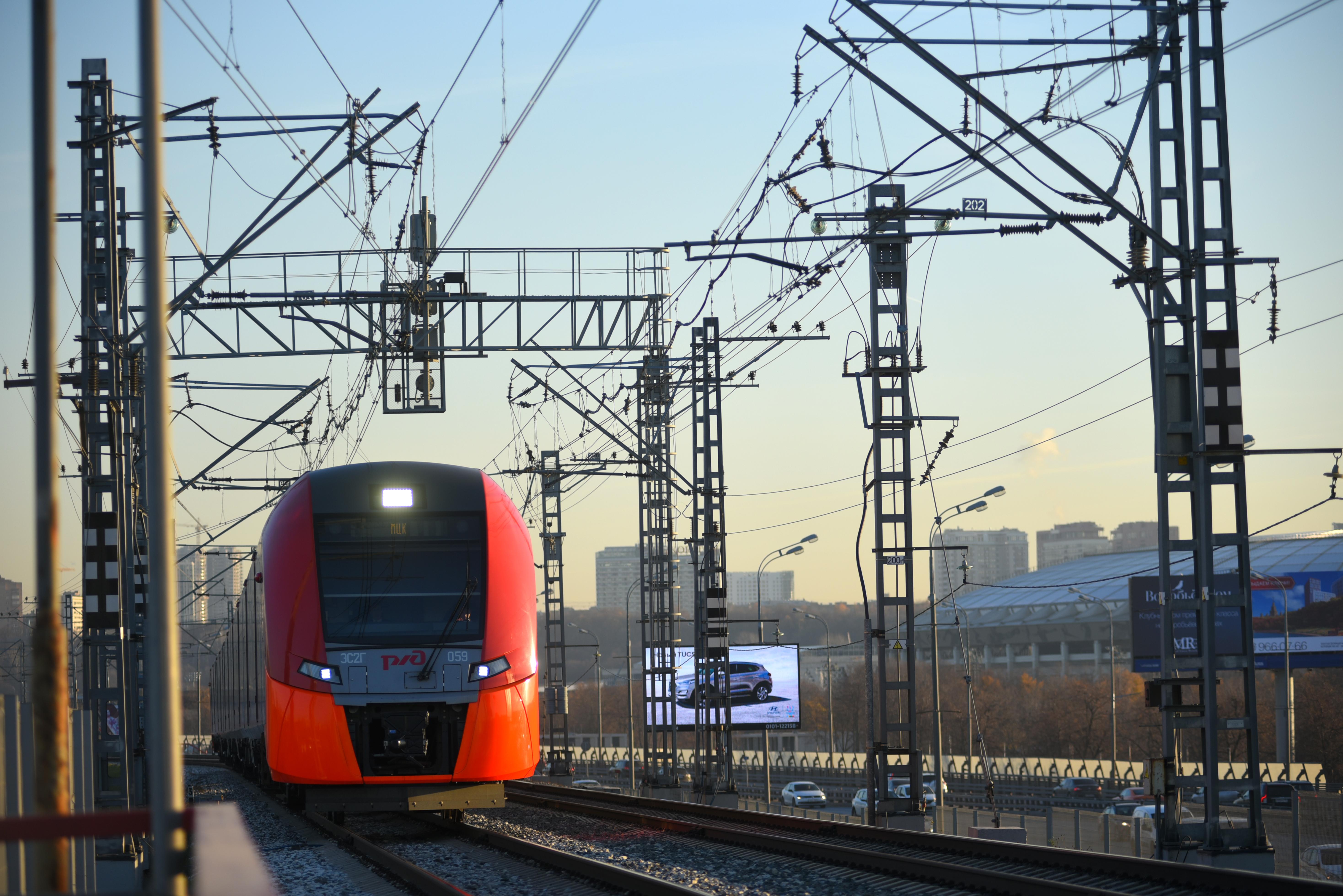Поезда «Ласточки» на МЦК перевезли 500 миллионов человек за четыре года