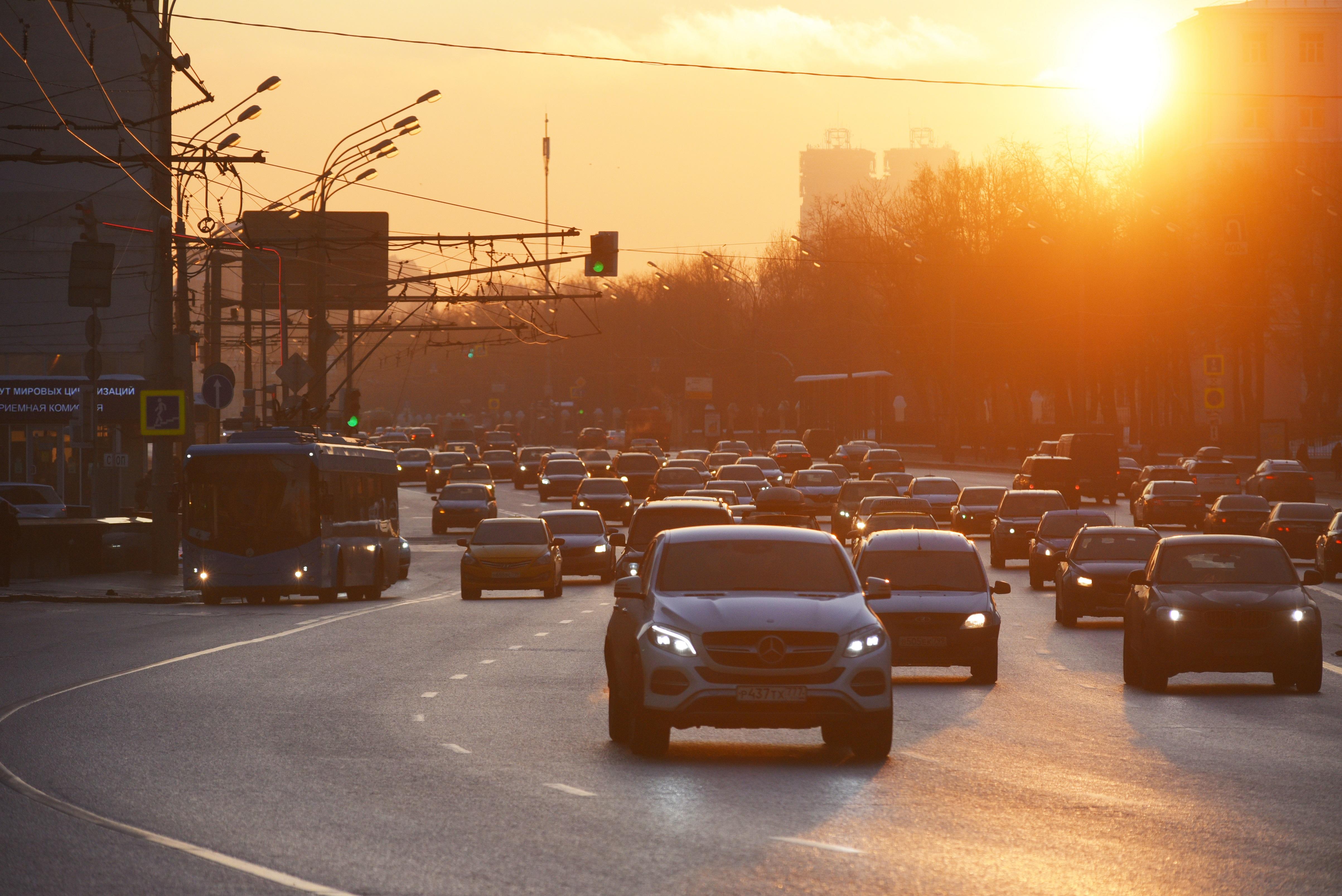 Жителей Москвы предупредили о восьмибалльных пробках
