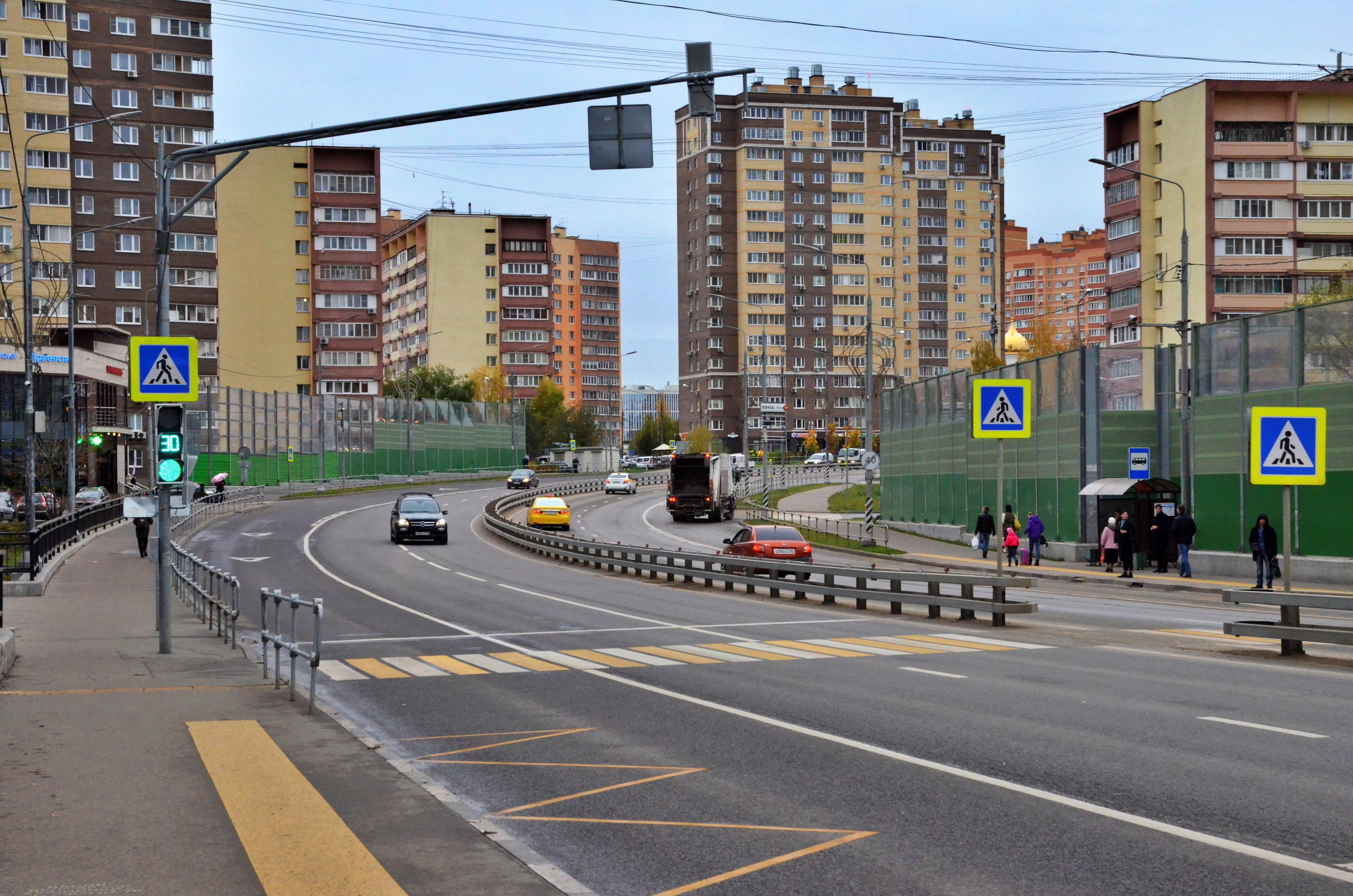 Новый этап: улично-дорожную сеть обновят в Коммунарке до конца 2021 года